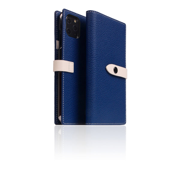 D8 Full Grain Leather Edition Case for iPhone 11 Pro Max Navy Blue