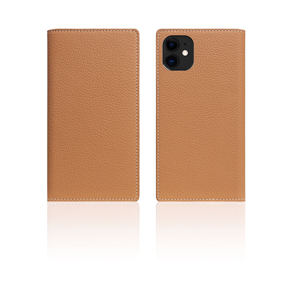 D8 Full Grain Leather Case for iPhone 11 Caramel Cream