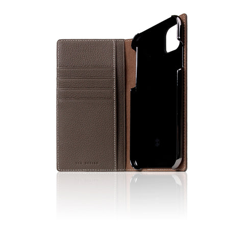 D8 Full Grain Leather Case for iPhone 11 Etoffe Cream