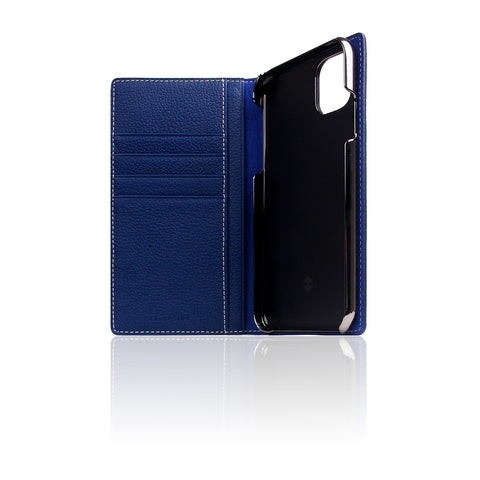 D8 Full Grain Leather Case for iPhone 11 Navy Blue