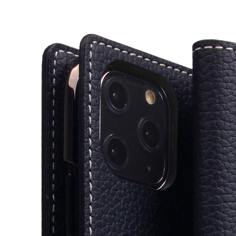 D8 Full Grain Leather Case for iPhone 11 Pro Black Blue