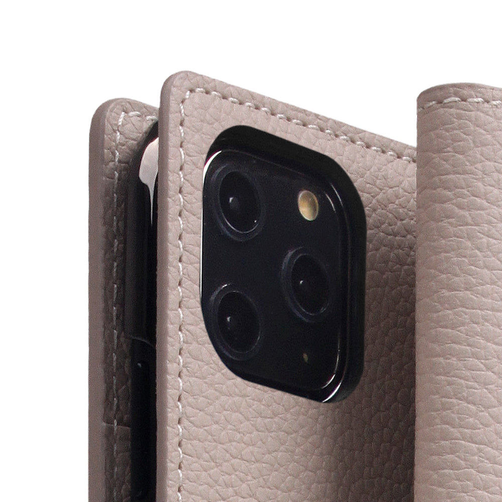 D8 Full Grain Leather Case for iPhone 11 Pro Light Cream