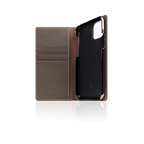D8 Full Grain Leather Case for iPhone 11 Pro Etoffe Cream