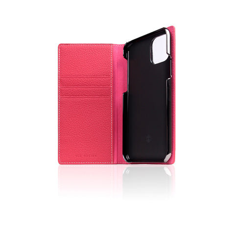 D8 Full Grain Leather Case for iPhone 11 Pro Pink Rose