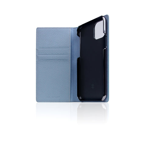 D8 Full Grain Leather Case for iPhone 11 Pro Powder Blue