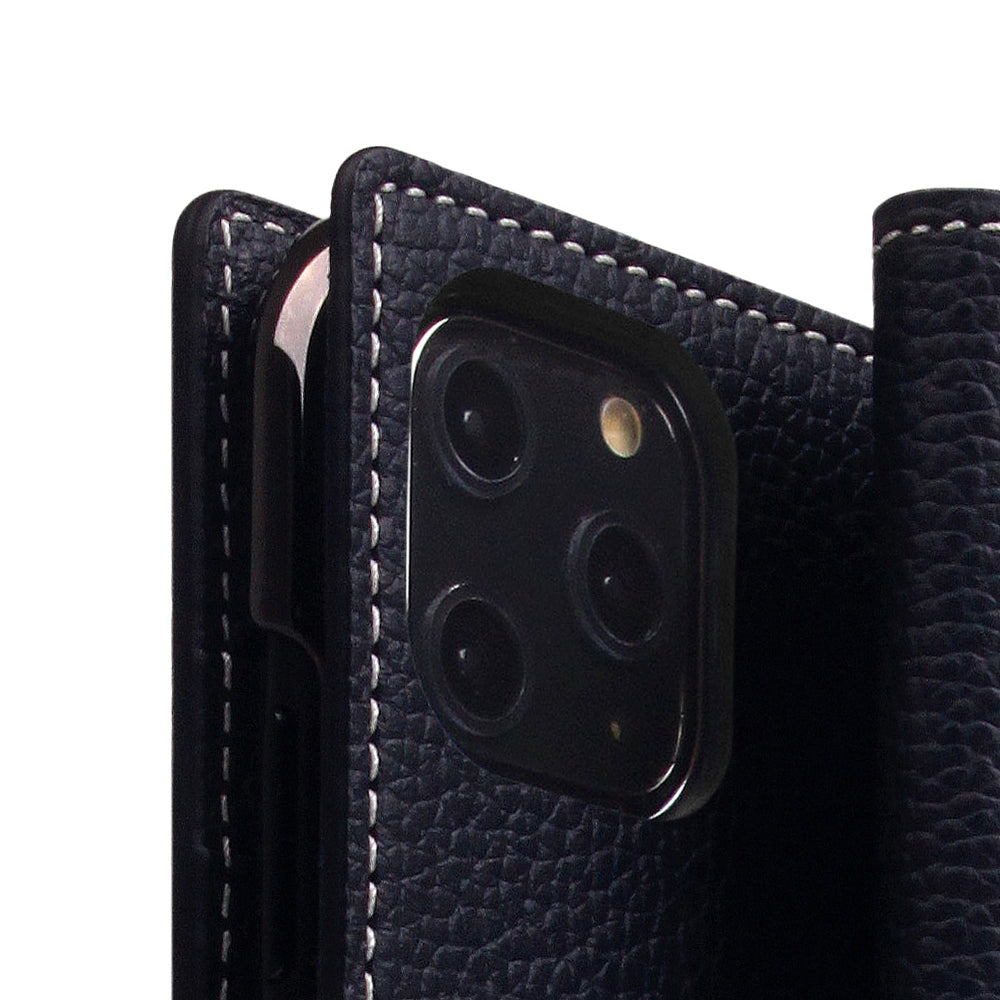 D8 Full Grain Leather Case for iPhone 11 Pro Max Black Blue