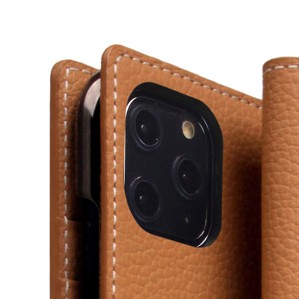 D8 Full Grain Leather Case for iPhone 11 Pro Max Caramel Cream