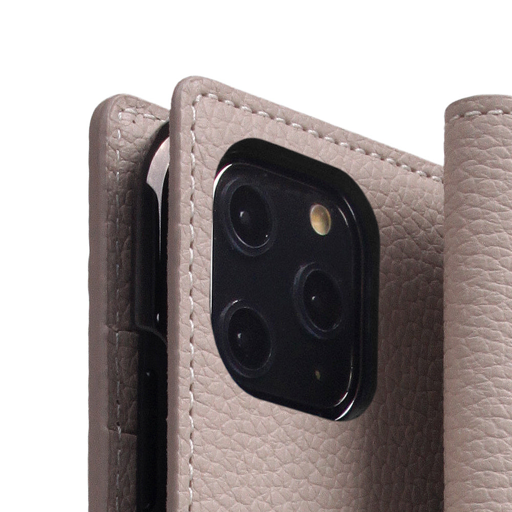 D8 Full Grain Leather Case for iPhone 11 Pro Max Light Cream