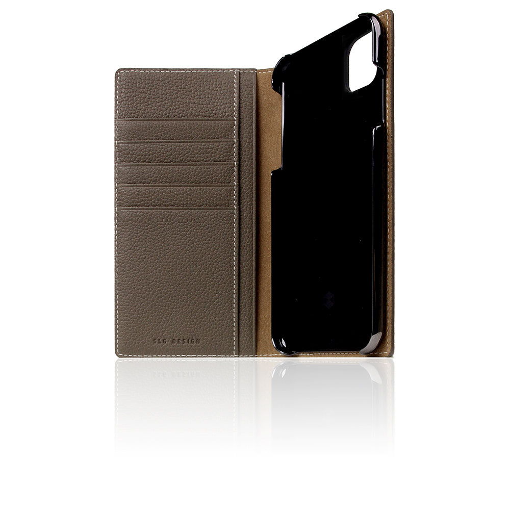 D8 Full Grain Leather Case for iPhone 11 Pro Max Etoffe Cream