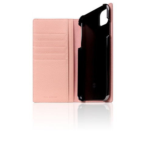 D8 Full Grain Leather Case for iPhone 11 Pro Max Light Rose