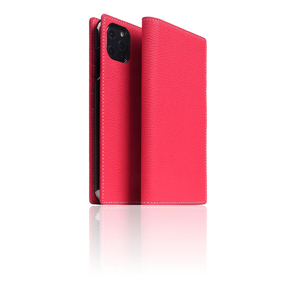 D8 Full Grain Leather Case for iPhone 11 Pro Max Pink Rose