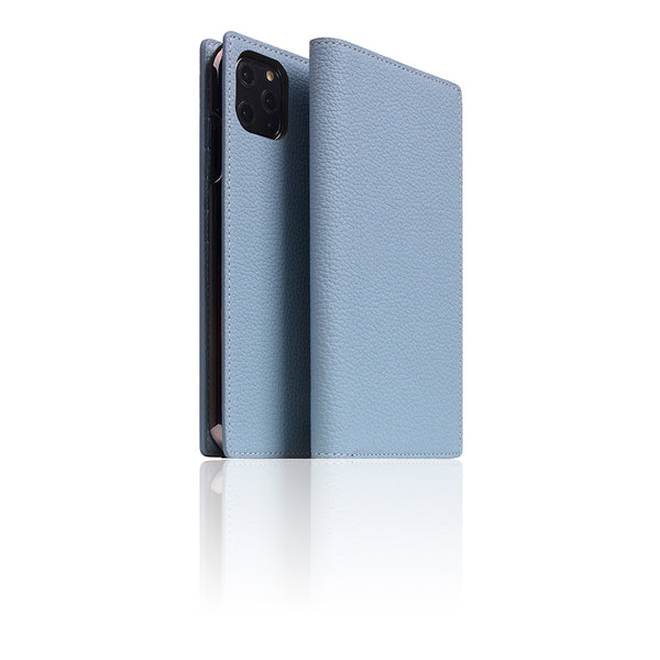 D8 Full Grain Leather Case for iPhone 11 Pro Max Powder Blue