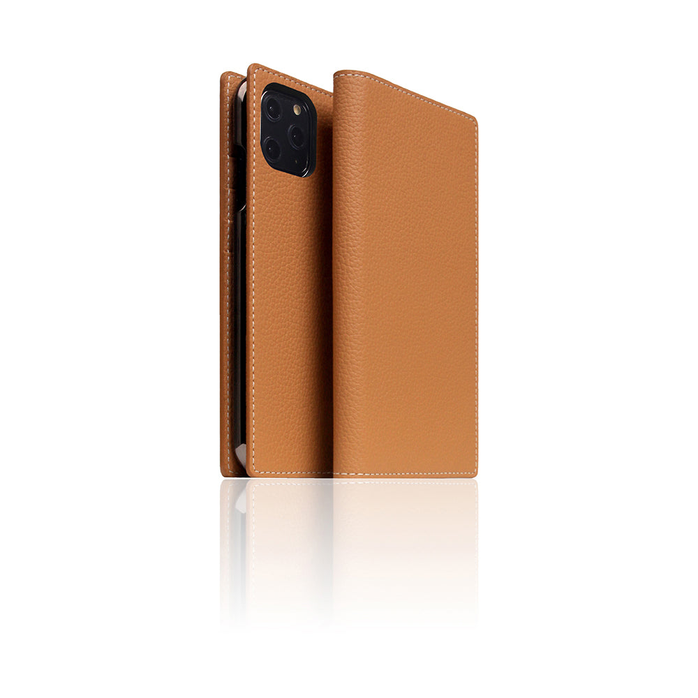 D8 Full Grain Leather Case for iPhone 11 Pro Caramel Cream