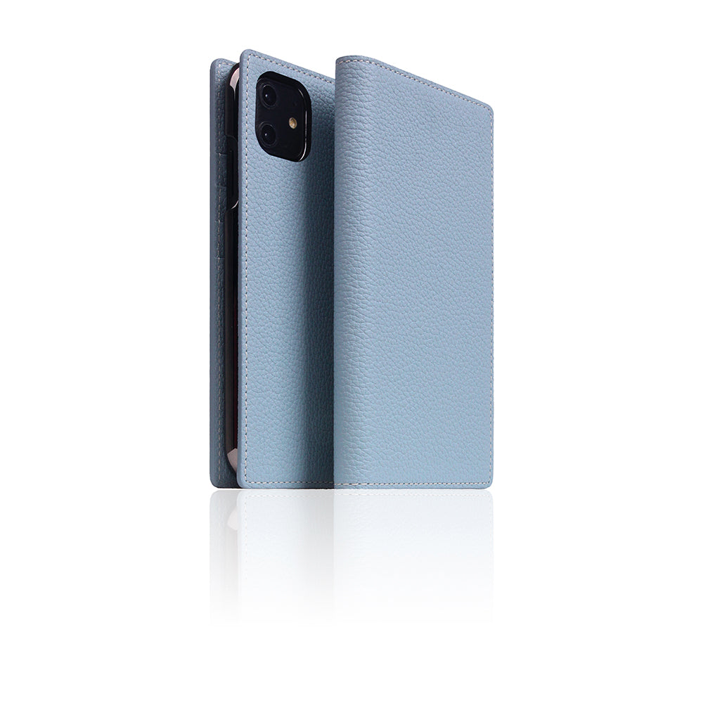D8 Full Grain Leather Case for iPhone 11 Powder Blue