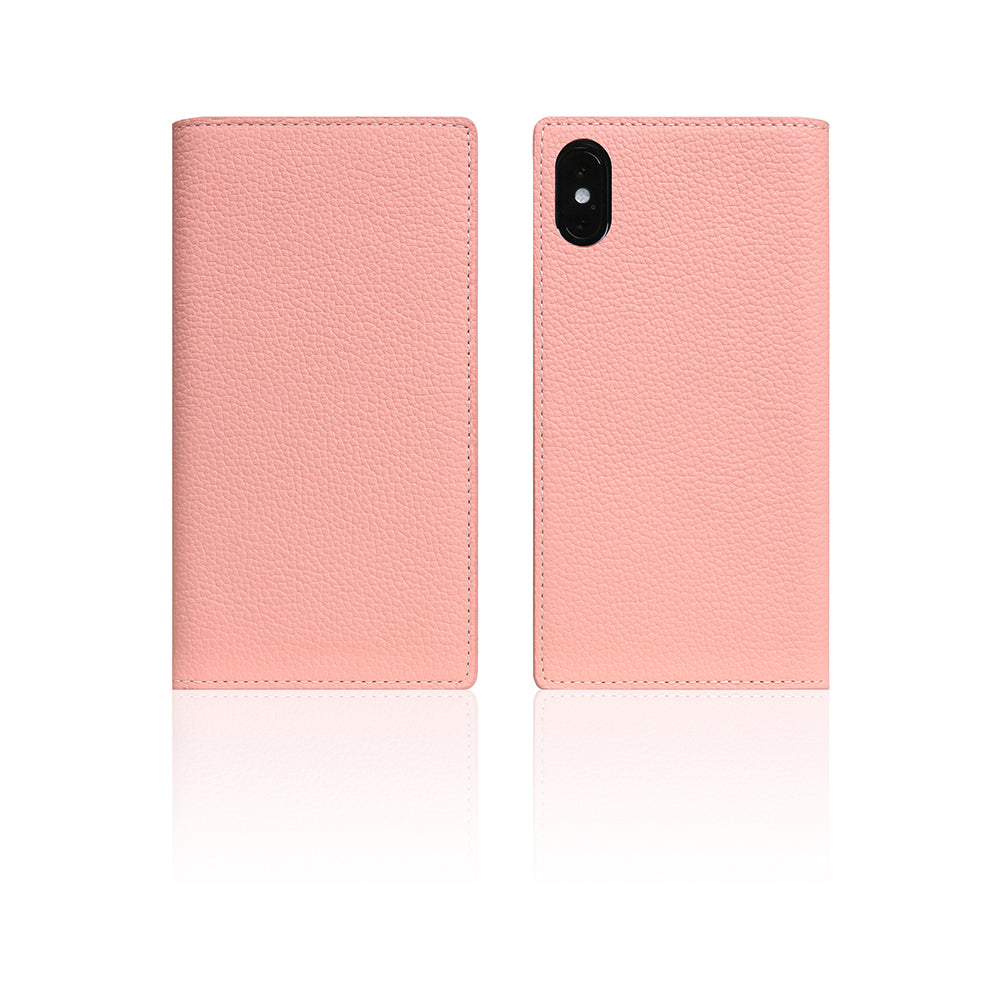 D8 Full Grain Leather Case for iPhone X / XS Light Rose