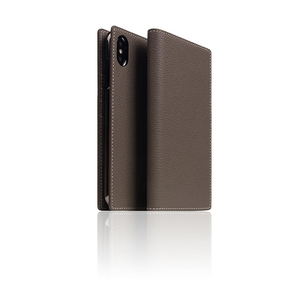 D8 Full Grain Leather Case for iPhone X / XS Etoff Cream