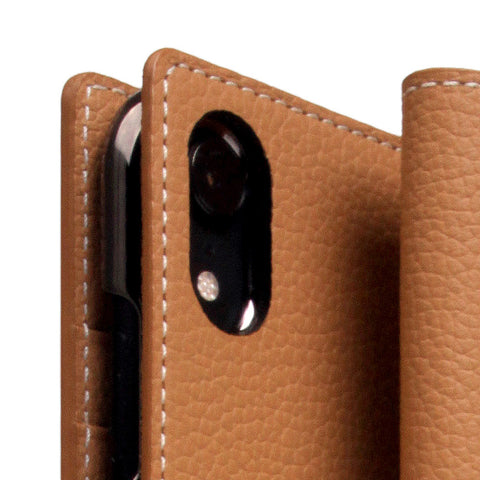 D8 Full Grain Leather Case for iPhone XR Caramel Cream