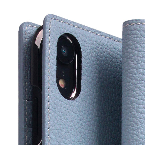 D8 Full Grain Leather Case for iPhone XR Powder Blue