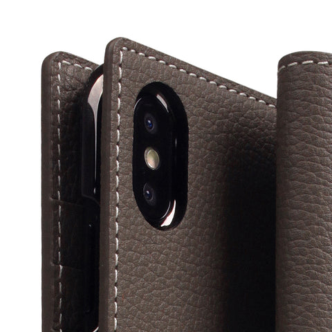 D8 Full Grain Leather Case for iPhone Xs Max Etoff Cream