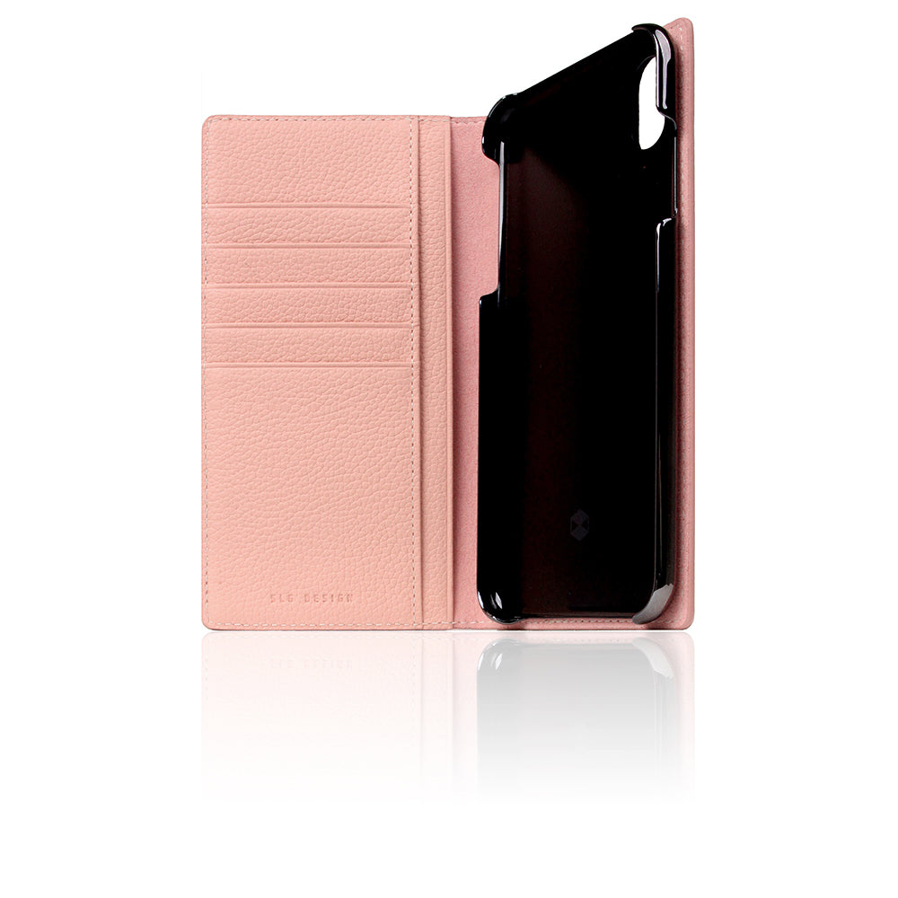 D8 Full Grain Leather Case for iPhone Xs Max Light Rose
