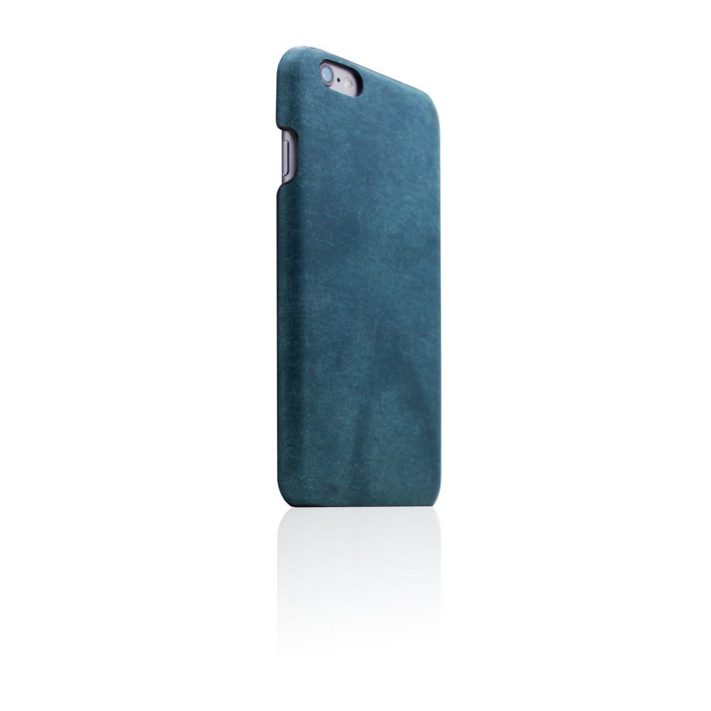 D8 Italian Pueblo Leather Back Case for iPhone 6/6s Blue