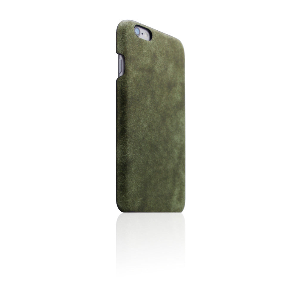 D8 Italian Pueblo Leather Back Case for iPhone 6/6s Olive