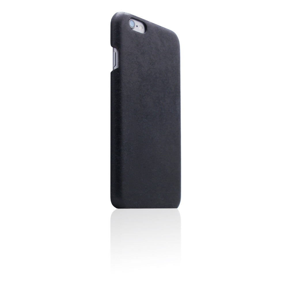 D8 Italian Pueblo Leather Back Case for iPhone 6/6s Plus Black