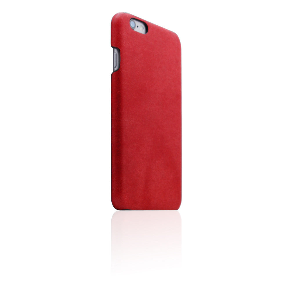 D8 Italian Pueblo Leather Back Case for iPhone 6/6s Plus Red