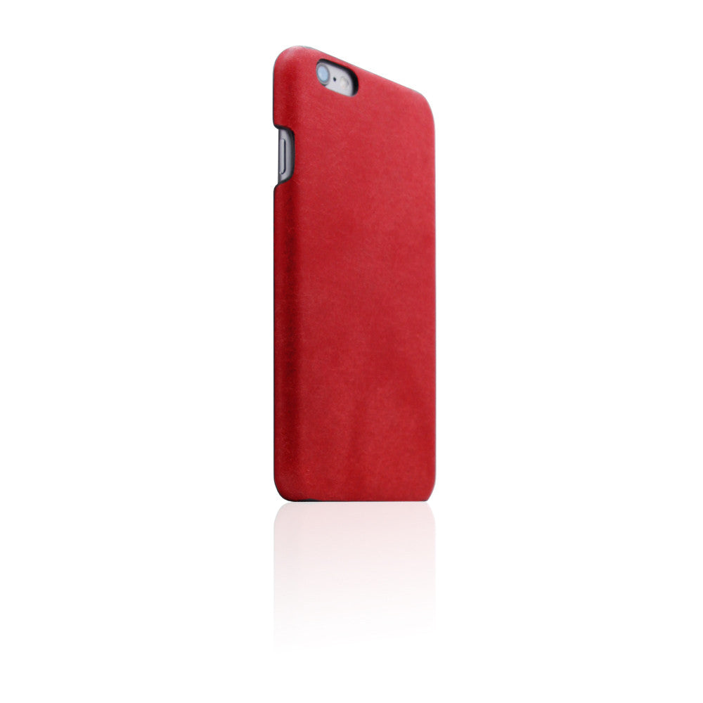 cb9be9499e D8 Italian Pueblo Leather Back Case for iPhone 6/6s Red .