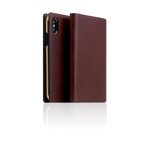 D7 Italian Buttero Leather Case for iPhone X Brown