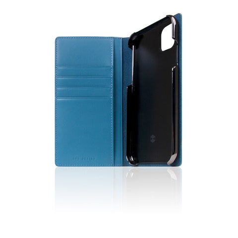 D+ Italian Carbon Leather Case for iPhone 11 Blue