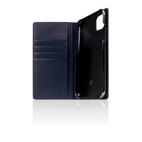D+ Italian Carbon Leather Case for iPhone 11 Navy