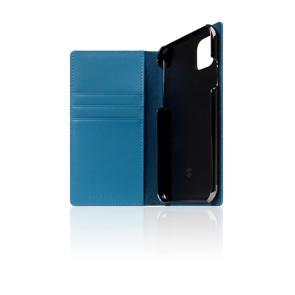 D+ Italian Carbon Leather Case for iPhone 11 Pro Blue