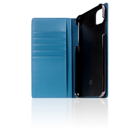 D+ Italian Carbon Leather Case for iPhone 11 Pro Max Blue
