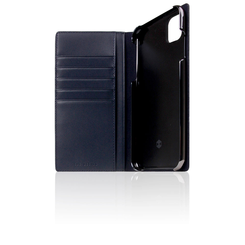 D+ Italian Carbon Leather Case for iPhone 11 Pro Max Navy