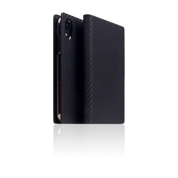 D+ Italian Carbon Leather Case for iPhone 11 Black