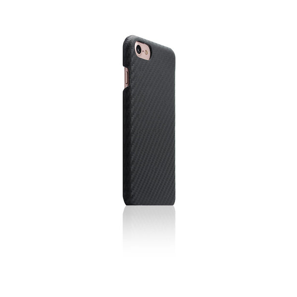 SLG DESIGN / D+ Italian Carbon Leather Back Case for iPhone 7 Black