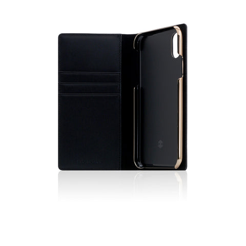 D+ Italian Carbon Leather Case for iPhone X Black