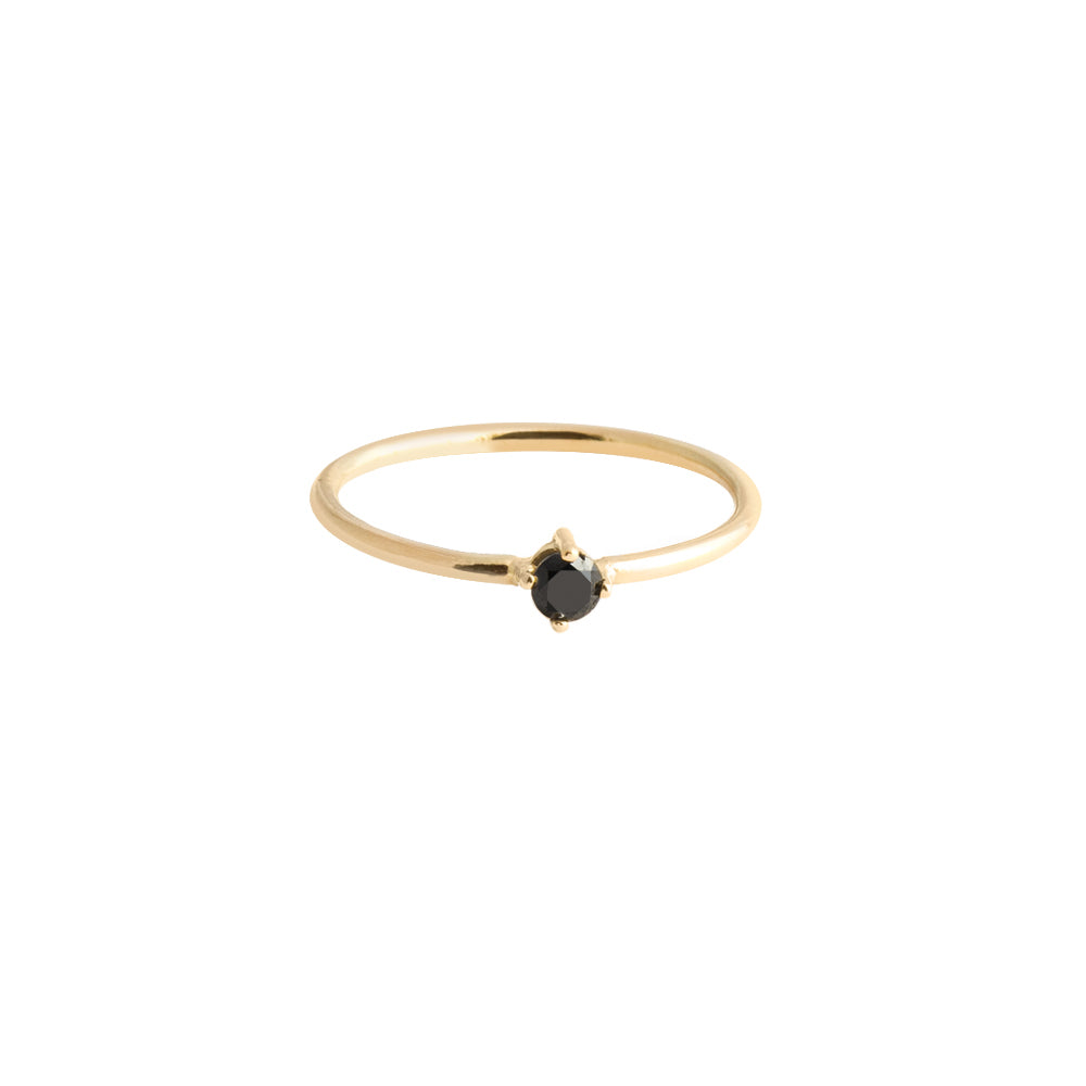 Anillo Sunshine DIAMANTE NEGRO