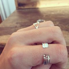Anillo DOBLE LOVE