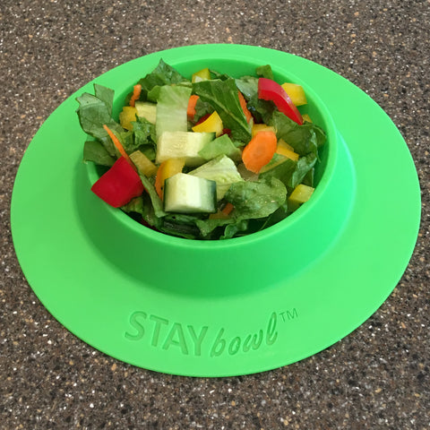 STAYbowl spring green large with vegetables