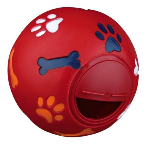 WHEEKY® Treat Ball for LARGE DOGS (14 cm) - Great Boredom Buster for Large Dogs ( > 50 lbs) - www.MyStayBowl.com