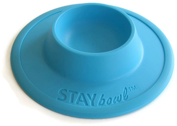STAYbowl™ NO-SLIP/NO-TIP Food Bowl for Cats and Toy-Breed Dogs (1/4 CUP SIZE) - www.MyStayBowl.com