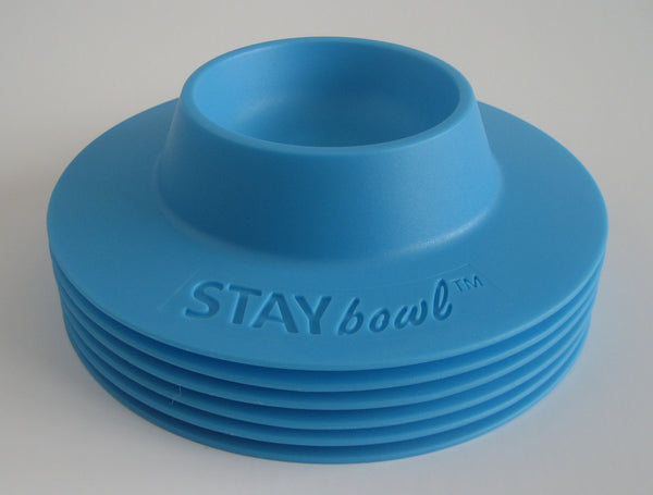 Wholesale - 100 count box of (1/4 cup) STAYbowl® Tip-Proof Bowl (choose color options) - www.MyStayBowl.com
