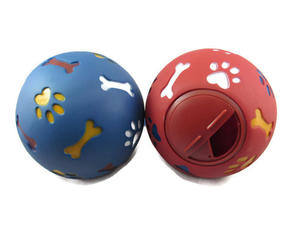 WHEEKY™ Treat Ball for LARGE DOGS (14 cm) - Great Boredom Buster for Large Dogs ( > 50 lbs) - www.MyStayBowl.com