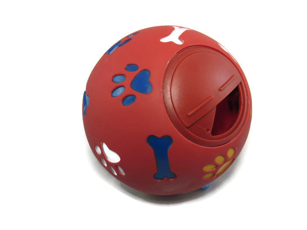 WHEEKY® Treat Ball for MEDIUM DOGS (11 cm/4.3 inch) - Great Boredom Buster for Medium Dogs (20-50 lbs)
