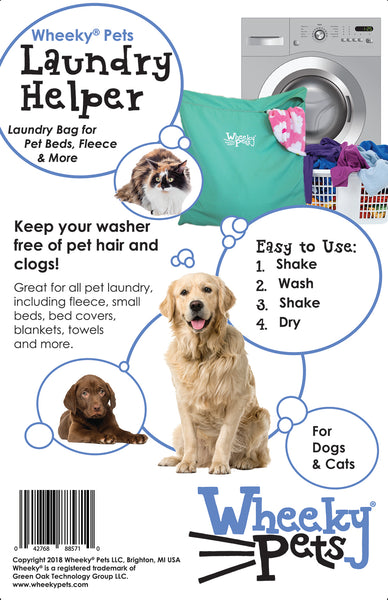 WheekyⓇ Pets Laundry Helper - Dogs & Cats - NEW! - www.MyStayBowl.com