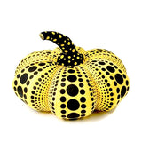 SOLD OUT-SMALL YAYOI KUSAMA PUMPKIN