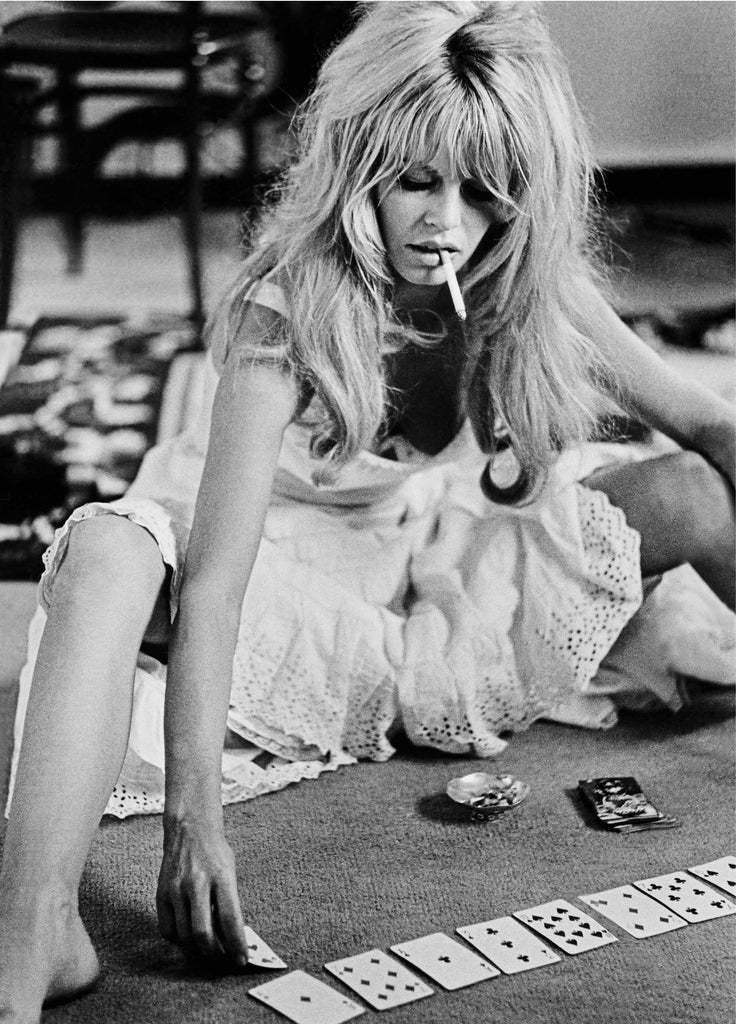 BRIGITTE BARDOT PLAYING CARDS (CE009)