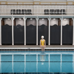 SWIMMER IN YELLOW